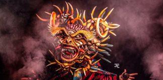 Danzas de Corpus Christi en festivales de Panama, conocida como Diablos Sucios o de los gallotes