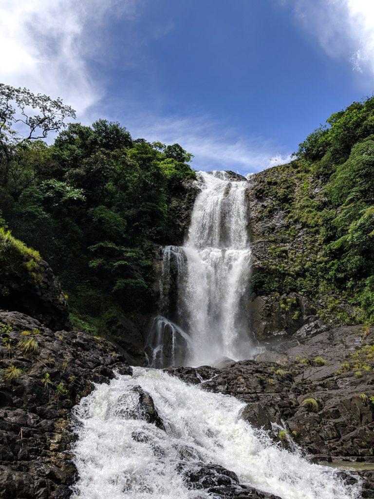 La cascada de la Yeguada en Panama