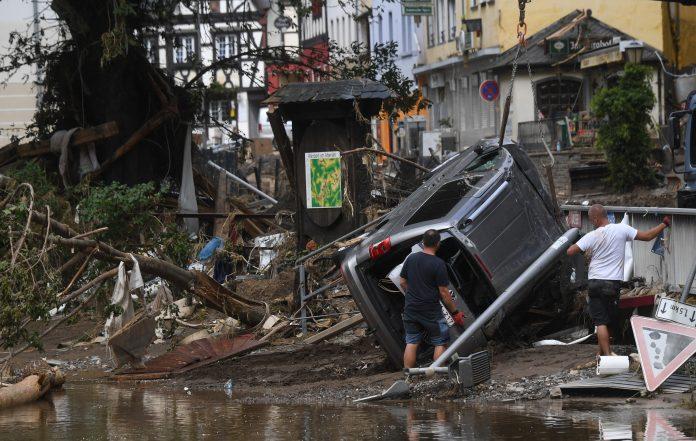 Inundaciones en Alemania, julio 2021