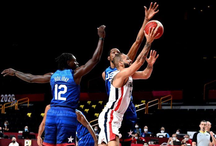 USA Team cae derrota ante Francia en los JJOO de Tokio 2020.