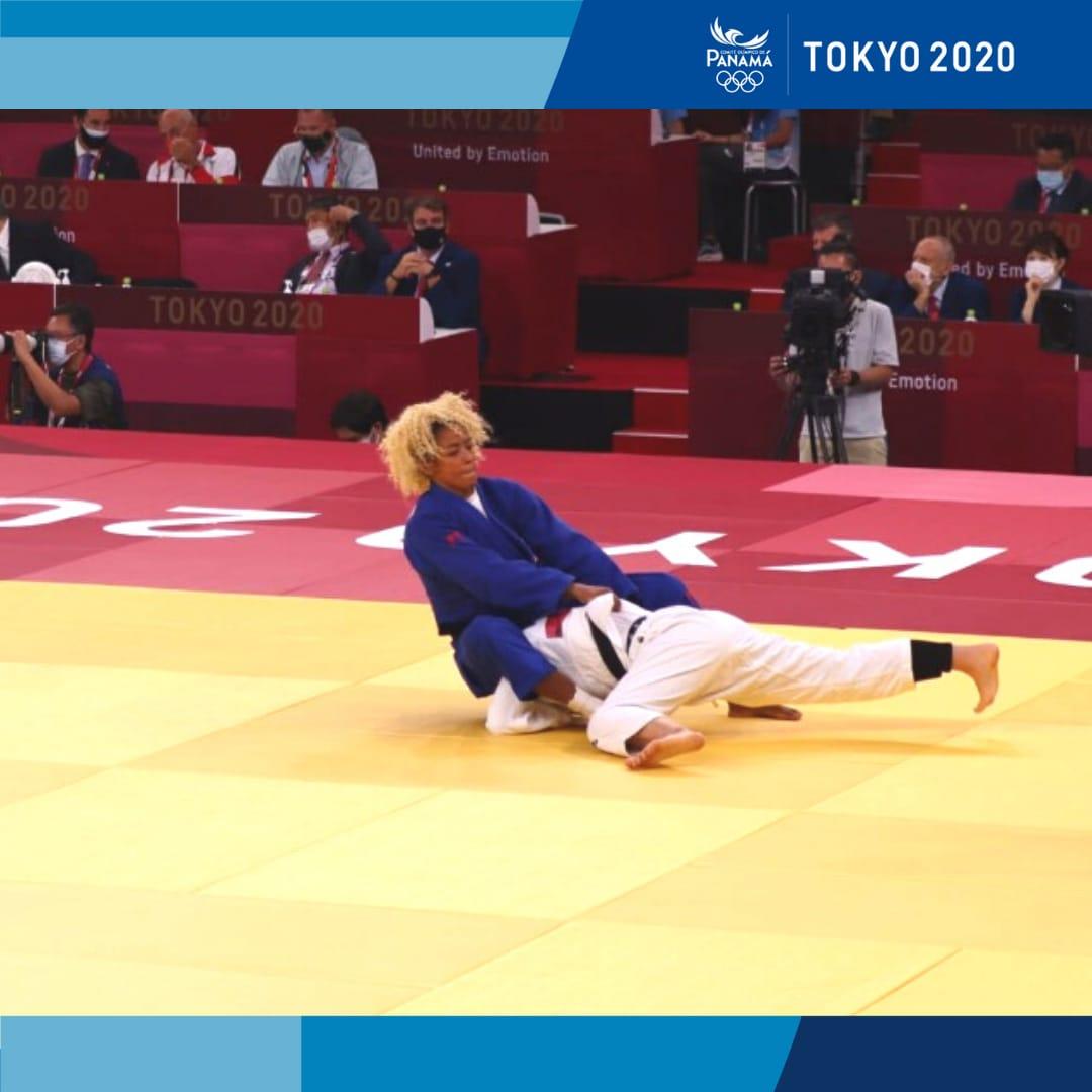 Miryam Roper en los juegos olimpicos de Tokio celebrados en el 2021