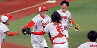 Japón revalida oro en sóftbol olímpico