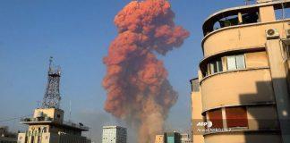 Explosión Libano