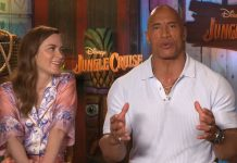 Dwayne Johnson y Emily Blunt protagonizan 'Jungle Cruise'