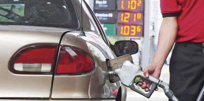 Alza consecutiva en el precio de la gasolina