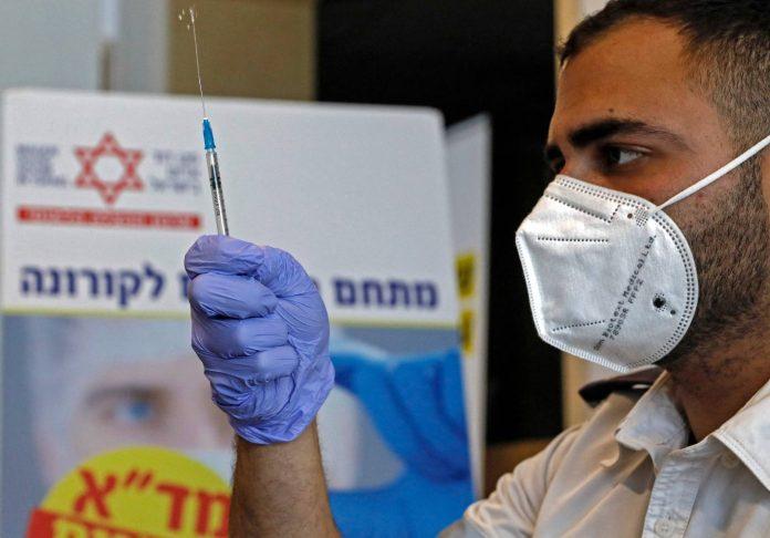 Israel aplicará tercera dosis de vacuna a los mayores de 60 años