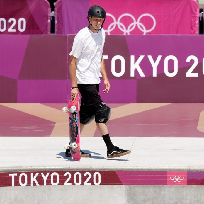 Tony Hawk en los Juegos Olímpicos de Tokio 2020