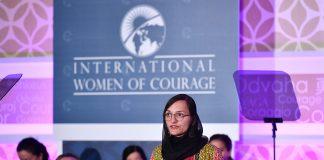 Alcaldesa afgana