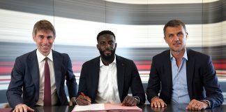 Bakayoko cedido al Milan por las próximas dos temporadas.