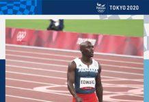 Alonso Edward se despide de los Juegos Olímpicos de Tokio 2020