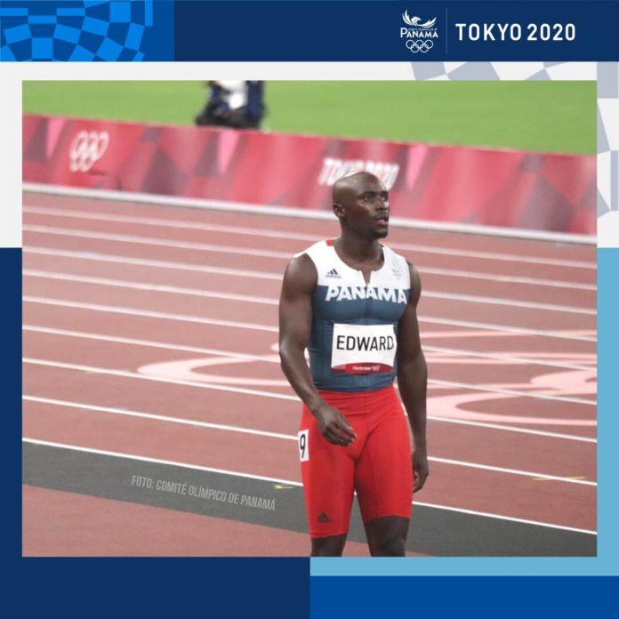 Alonso Edward se despide de las olimpiadas deTokio en el 2021