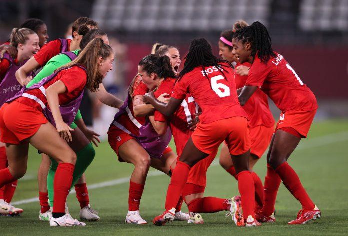 Canadá pasa a la gran final de fútbol olímpico en los Juegos Olímpicos de Tokio 2020