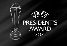 UEFA entrega el premio Presidente 2021 a los héroes que ayudaron a Eriksen en la Euro 2020