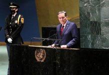 Presidente Cortizo hace un llamado a la comunidad internacional
