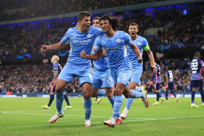 El Manchester City golea y en su regreso a la Champions