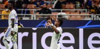 El Real Madrid vence 1 gol por 0 al Inter de Milán