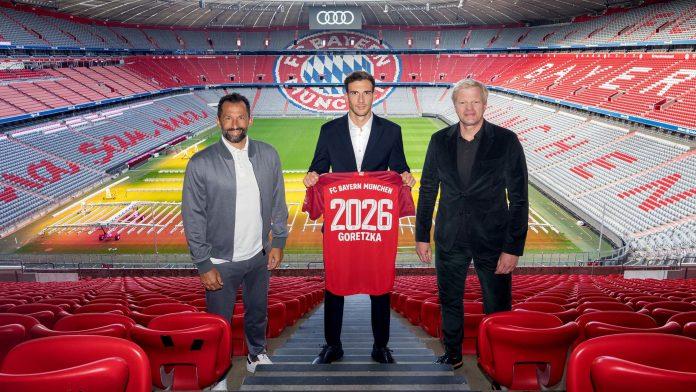 Goretzka seguirá vistiendo los colores del Bayern Munich