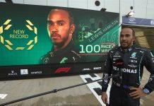 Hamilton llega a su victoria 100 en la f1