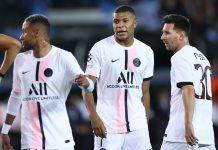 El PSG no pasa del empate con su tridente de oro