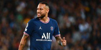 Neymar es baja con el PSG
