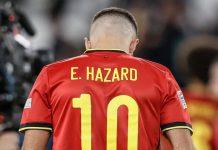 Hazard es liberado de la selección por Bélgica