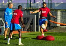 Agüero y Dembelé son las alternativas para el Barça